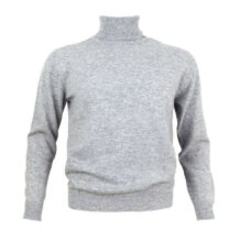 Men gray cashmere sweater