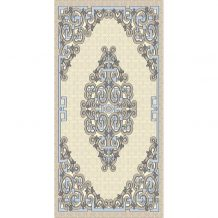 Mongolian Design Pure Wool Carpet (100×200 cm)