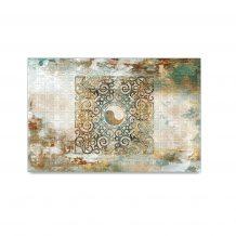 Oriental Pattern Wool Carpet