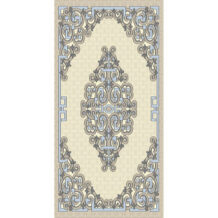 Mongolian Design Pure Wool Carpet (100×200 cm)