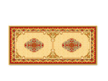 Mongolian Design Wool Carpet (250×500 cm)