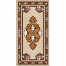 Traditional Pattern Pure Wool Carpet (100×200 cm)
