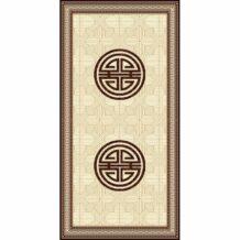 Traditional Pattern Wool Carpet (100×200 cm)
