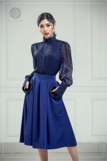 Dark Blue Suit For Women