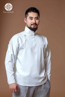 Men's White Deel Shirt