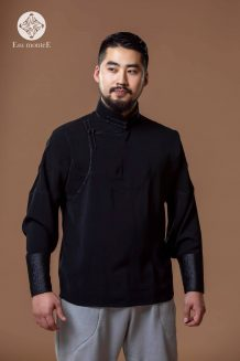 Men's Black Deel Shirt