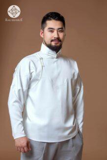 Men's White Deel Shirt