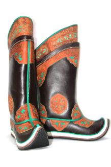 17 th Century Brown Boots 2
