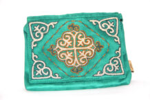 Green Kazakh Embroided Handbag