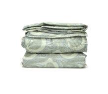 Sheep Wool Blanket (Green)