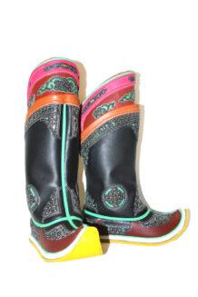 17 th Century Black Boots M2