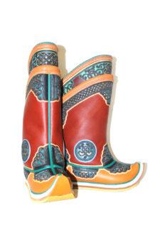 17 th Century Yellow Boots