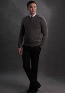 Men's Merino Wool Dark Shirt