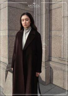 Women's 100% Sheep Wool Coat